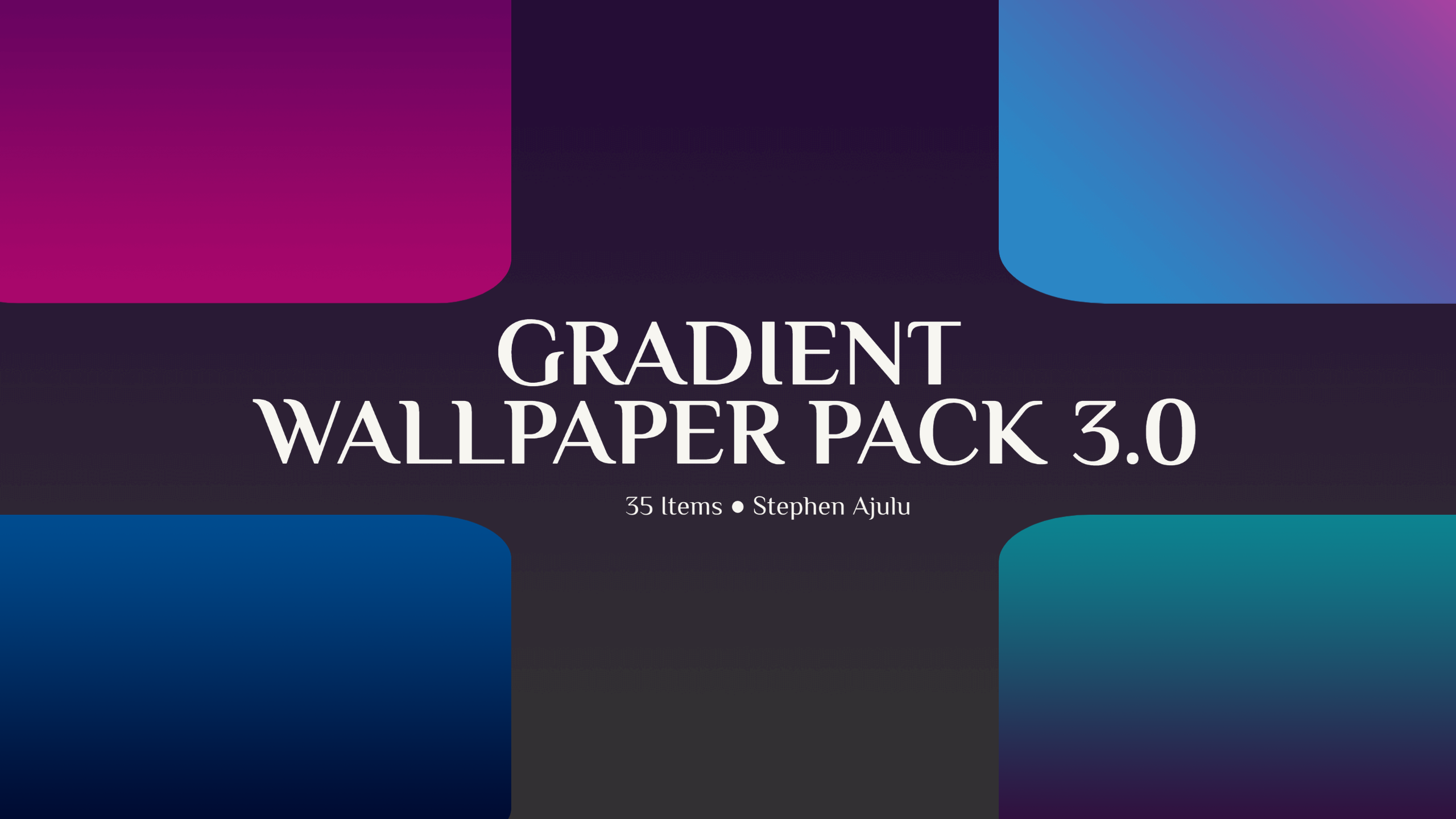 Gradient Wallpapers(8K) 3.0 feature-image